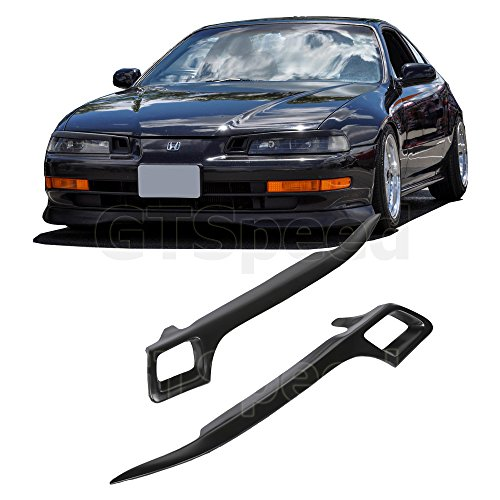 GT-Speed made for 92-96 Honda Prelude JDM Hiro Style Eyelids Headlight Lids Cover Air Vents
