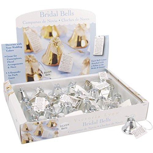 120 Bridal Bells silver Ring for a Kiss Dar