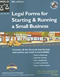 Legal Forms for Starting and Running a Small Business, Fred S. Steingold, 1413304117