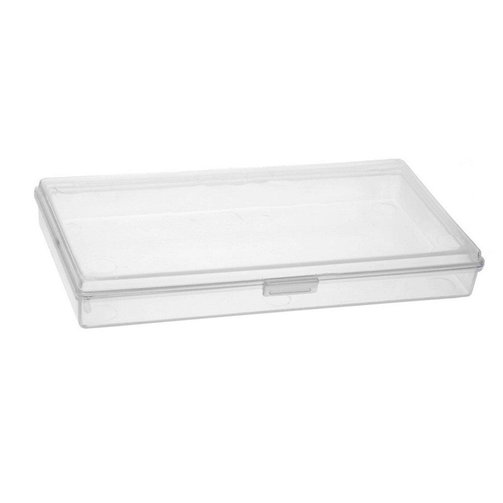 Godagoda Waterproof Shockproof Phone Box Transparent Rectangle Storage Case Box Holder Container