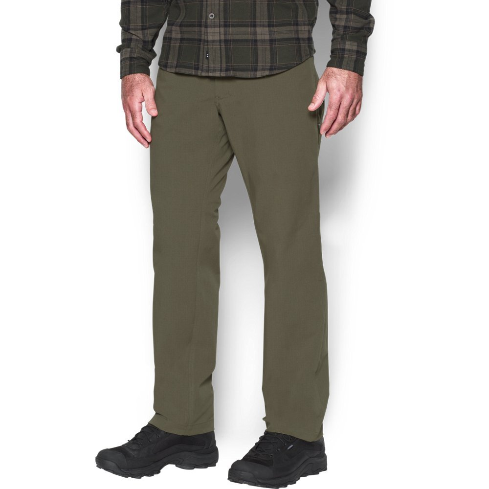 Under Armour Men's Storm Covert Tactical Pants, Marine Od Green /Marine Od Green, 30/32