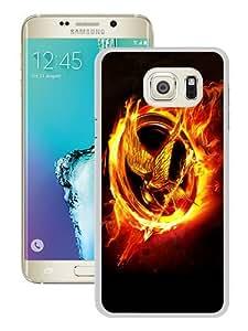 Unique Samsung Galaxy S6 Edge Plus Case ,The Hunger Games White Samsung Galaxy S6 Edge+ Skin Beautiful And Fashionable Custom Designed Phone Case