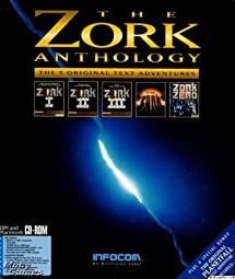 Zork Anthology 5 Original Text Adventure Games