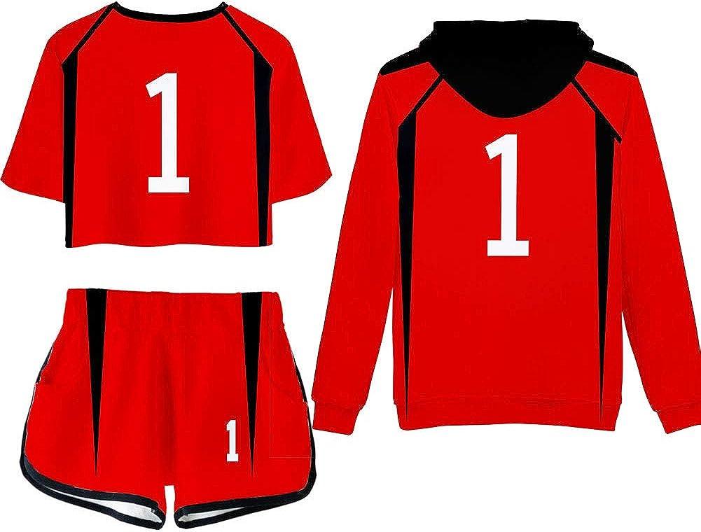 Haikyuu Nekoma High School NO.1 Kuroo Tetsurou Hoodie Sweatshirt Pullover