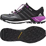 Adidas Terrex Boost Grey/Black/Flash Pink Womens Trail Runner Size 6.5M