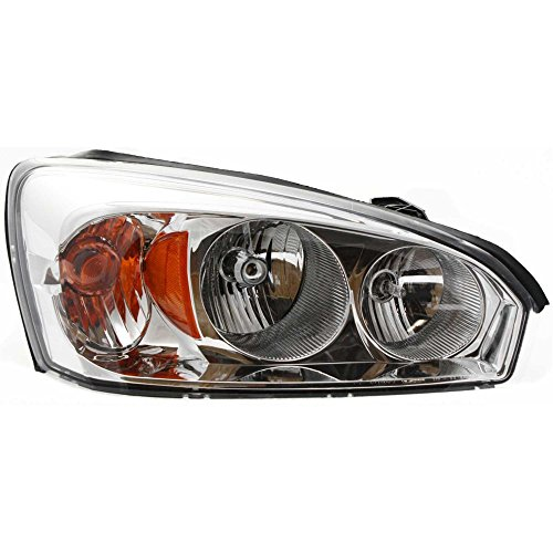 Headlight Compatible with Chevy Malibu 04-08 Composite Assembly Halogen w/Bulb(s) Right Side