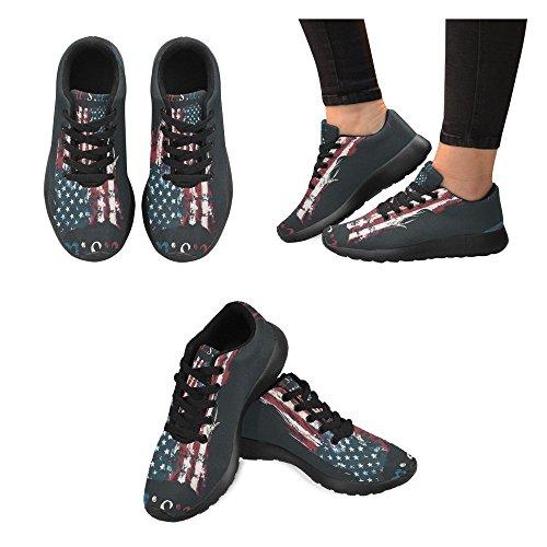 Interestprint Femmes Jogging Running Sneaker Léger Aller Facile À Pied Casual Confort Sportif Chaussures De Course Multi 8
