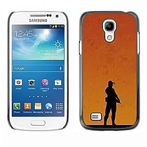 Stuss Case / Funda Carcasa protectora - Sunset Soldier - Samsung Galaxy S4 Mini i9190