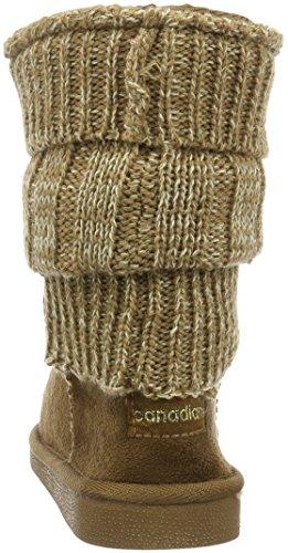 Bottes Boots Marron Canadians 370 Femme Souples Tobacco Rzf7qSw
