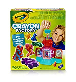 Crayola; Crayon Factory; Art Tool; Electronic; Melt and Mold Crayon Bits into Custom Creations (B01CIMCCL2) | Amazon price tracker / tracking, Amazon price history charts, Amazon price watches, Amazon price drop alerts