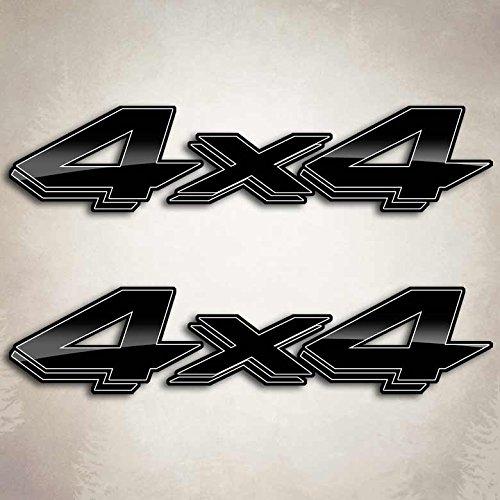 Black Edition Dakota Truck Decals 4x4 Dodge Ram Off Road (Off Road Dodge Trucks)