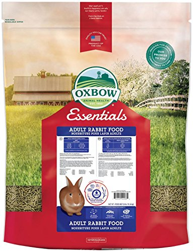 Fortified Food Rabbit - Oxbow Animal Health Essentials - Adult Rabbit (Bunny Basics/T), 25 Lb
