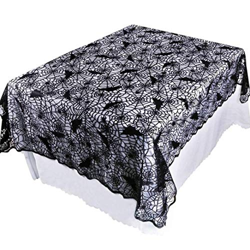 Staron  Halloween Spiderweb Tablecloths for Rectangle Tables