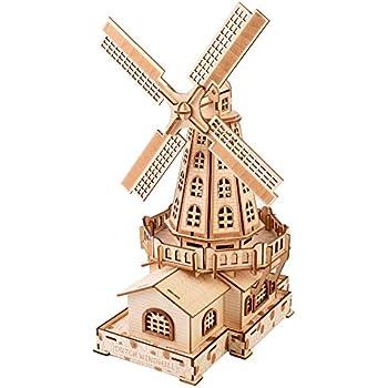 Amazon Com 3d Wooden Puzzle Arc De Triomphe Building Kit