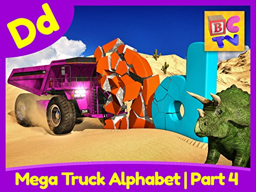 Candy Baby Doll (Mega Truck Alphabet Part 4 - Learn About the Letter D)