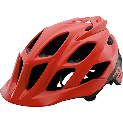 Fox Flux Helmet – Closeout – RED, Small/Medium