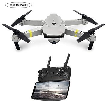 SH-Flying RC Dron - Dron RC Plegable, cuadricóptero, E58 WiFi FPV ...