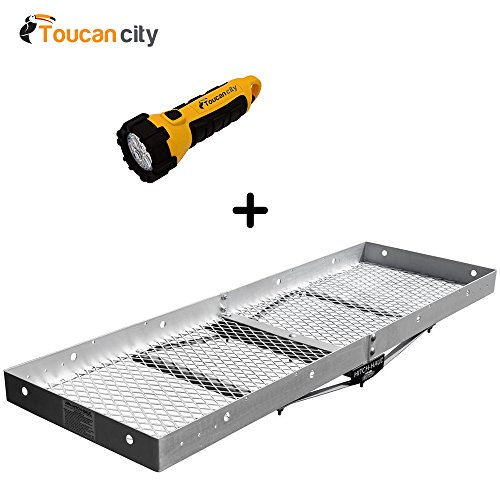 Masterbuilt Hitch Haul Lite Cargo Carrier H2A and Toucan City LED flashlight - Masterbuilt Hitch