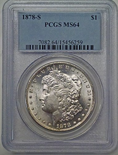 (1878 S Morgan Silver Dollar MS64 PCGS)
