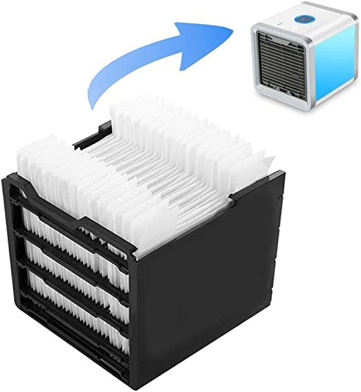Lin XH Filtro de reemplazo de Papel del Filtro del Enfriador de Aire Mini Ventilador de Aire Acondicionado refrigerador Filtro Especial 24pcs