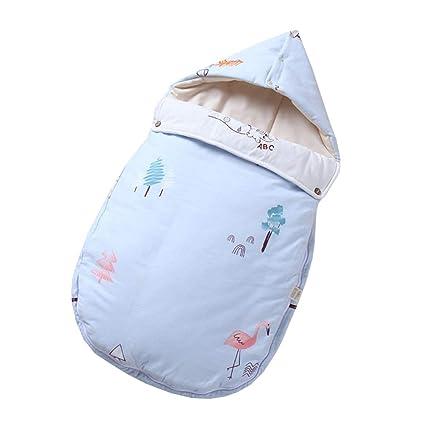 JSIHENA Sacos Niños Dormir Mantas Envolventes Saco De Dormir De Algodón Orgánico Coloreado Tipo De Sobre
