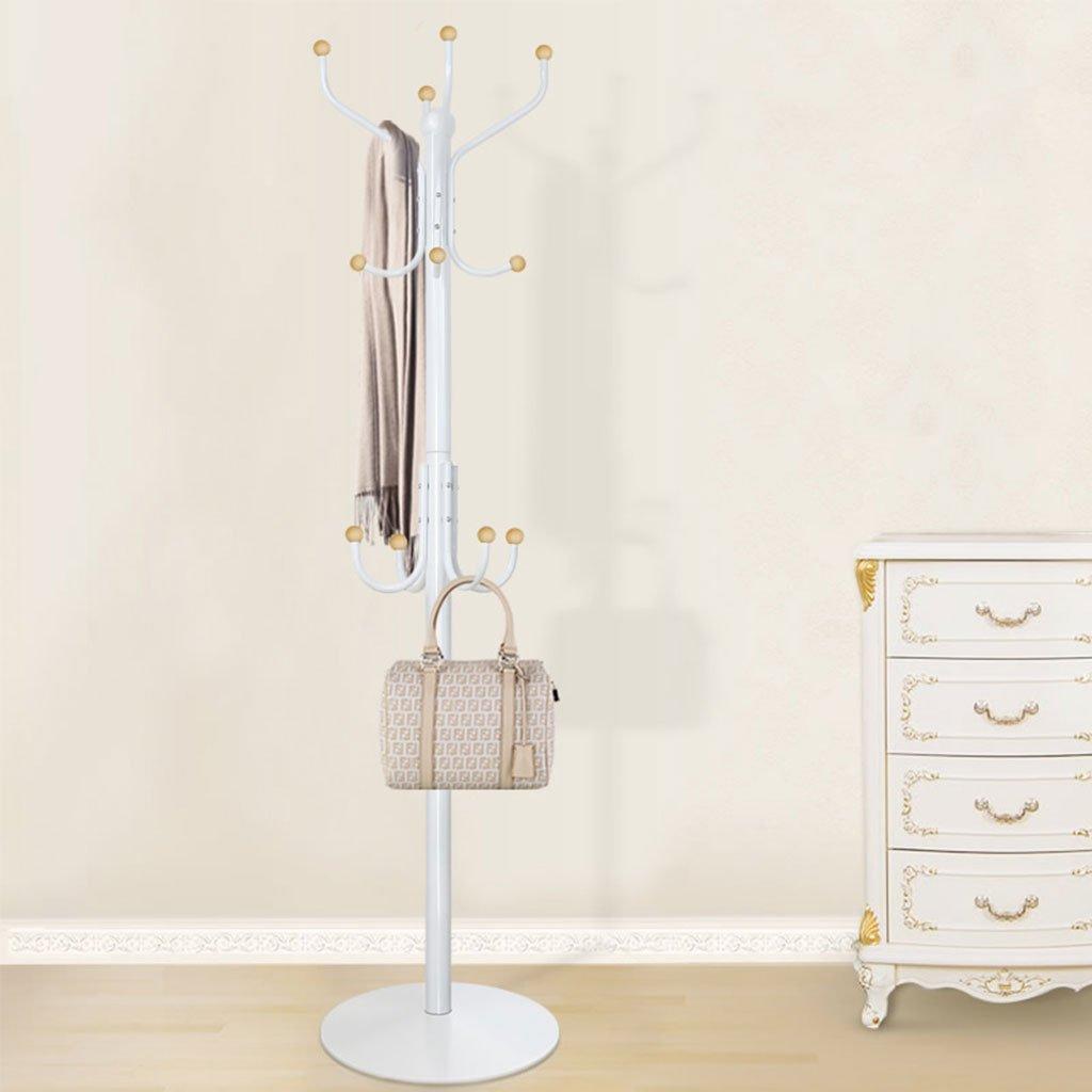 ZJ-Coat rack Coat Rack Floor Hanger Indoor Floor Coat Hanger Bedroom Clothes Rack Modern Simple Hanging Rack &&