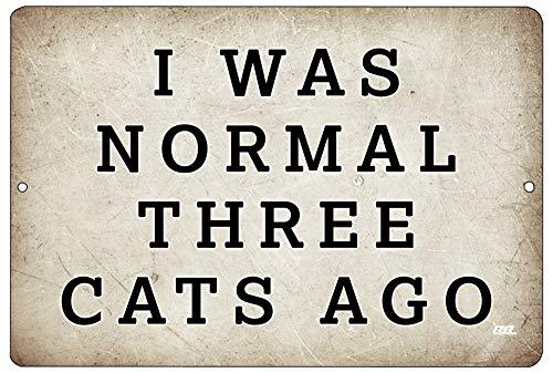 - Rogue River Tactical Funny Sarcastic Metal Tin Sign Wall Decor Man Cave Bar Funny Cat Kitten Owner Sign