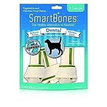 SmartBones Dental Dog Chew, Large, 3-Count