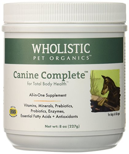 Wholistic Pet Organics Canine Complete Multivitamins, 8 oz