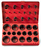 Neiko 50443A O-Ring Assortment, Universal SAE, 407-Piece Set