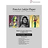 Hahnemuhle Matte Fine Art Smooth Archival Inkjet Paper Sample Pack, 8.5x11, 14 Sheets