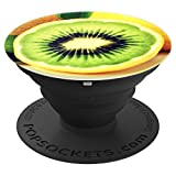 Pretty Green Kiwi Lime Hybrid Fruit Seeds - Vegan Fruit - PopSockets Grip and Stand for Phones and Tablets