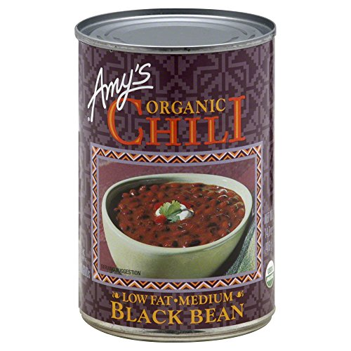 AMYS CHILI BLCKBN GF ORG, 14.7 OZ, PK- 12 by Amys