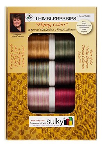 Sulky Of America Blendables Thread Set Assorted 733-09