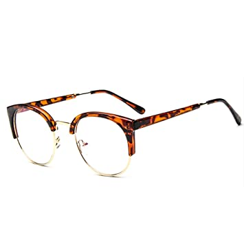 Forepin® Unisex Montura de Gafas Vintage para Hombre y Mujer Retro ...