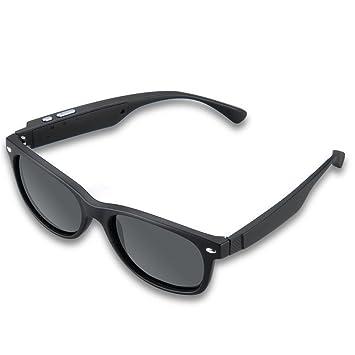 K3 - Gafas De Sol Polarizadas Inteligente Para Smartphone (Inalámbrico, Bluetooth, Control Voz, Auriculares, Llamadas) Negro: Amazon.es: Deportes y aire ...