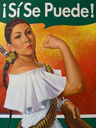 (Gango Home Décor Rosita (Sí Se Puede) by Robert Valadez 11x14in Poster Print)