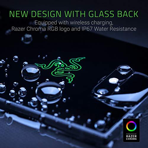 Razer Phone 2 (New): Unlocked Gaming Smartphone – 120Hz QHD Display – Snapdragon 845 – Wireless Charging – Chroma – 8GB RAM - 64GB - Mirror Black Finish