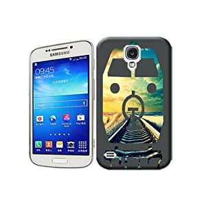 Natalie Works Unique Design Abstract Train and Orbital TPU Hard Cases for Samsung Galaxy S4 Hot Sell Protective Case