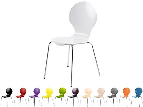 Stapelstuhl Bistrostuhl Stuhl Esszimmerstuhl Küchenstuhl Design