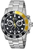 Invicta Men's 21553 Pro Diver Analog Display Swiss Quartz Silver Watch