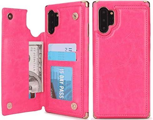 iPhone 11 Pro Max レザー ケース, 手帳型 アイフォン 11 Pro Max 本革 財布 高級 ビジネス スマートフォンカバー カバー収納 無料付スマホ防水ポーチIPX8 Gripping