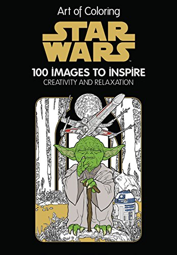 Art of Coloring Star Wars Cover Art