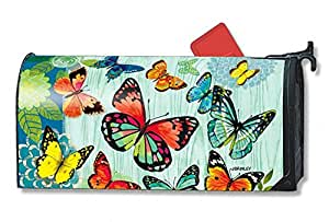 MailWraps Butterfly Flight Mailbox Cover #01093