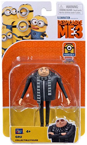 Gru Despicable Me 3 Collectible Figure