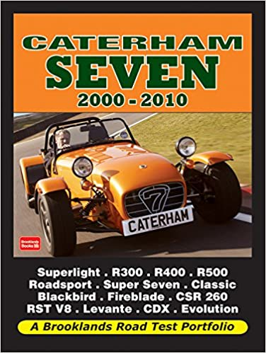 Caterham Seven 2000 2010 Road Test Portfolio Amazon