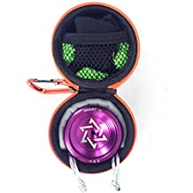 Cool Aluminum Professional YoYo Ball Bearing String Trick Alloy Purple