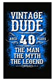 Vintage Dude 40 Birthday Gift For Him 1976 - Best Reviews Guide