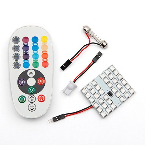 car-interior-light-jushye-t10-5050-smd-16-colors-36-rgb-led-car-interior-panel-reading-lamp-controll