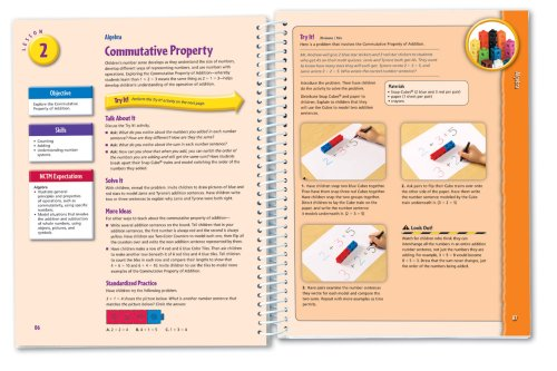 Learning Resources Hands-On Standards: Photo-Illustrated Lessons for Teaching with Math Manipulatives, Grades 1-2 Photo #2